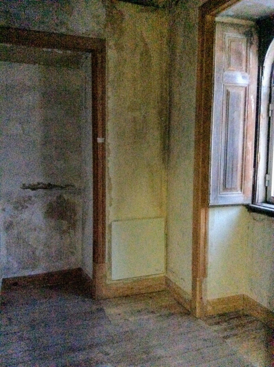 A first floor bedroom, the Old Manor House Renovation, Portugal