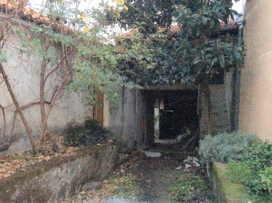 The rear exterior and annexe, the Old Manor House Renovation, Portugal