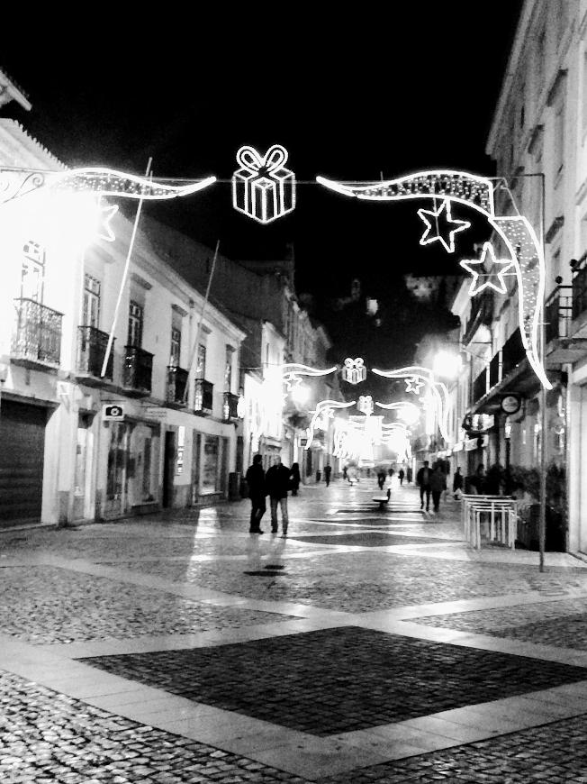 Tomar, Portugal at Christmas