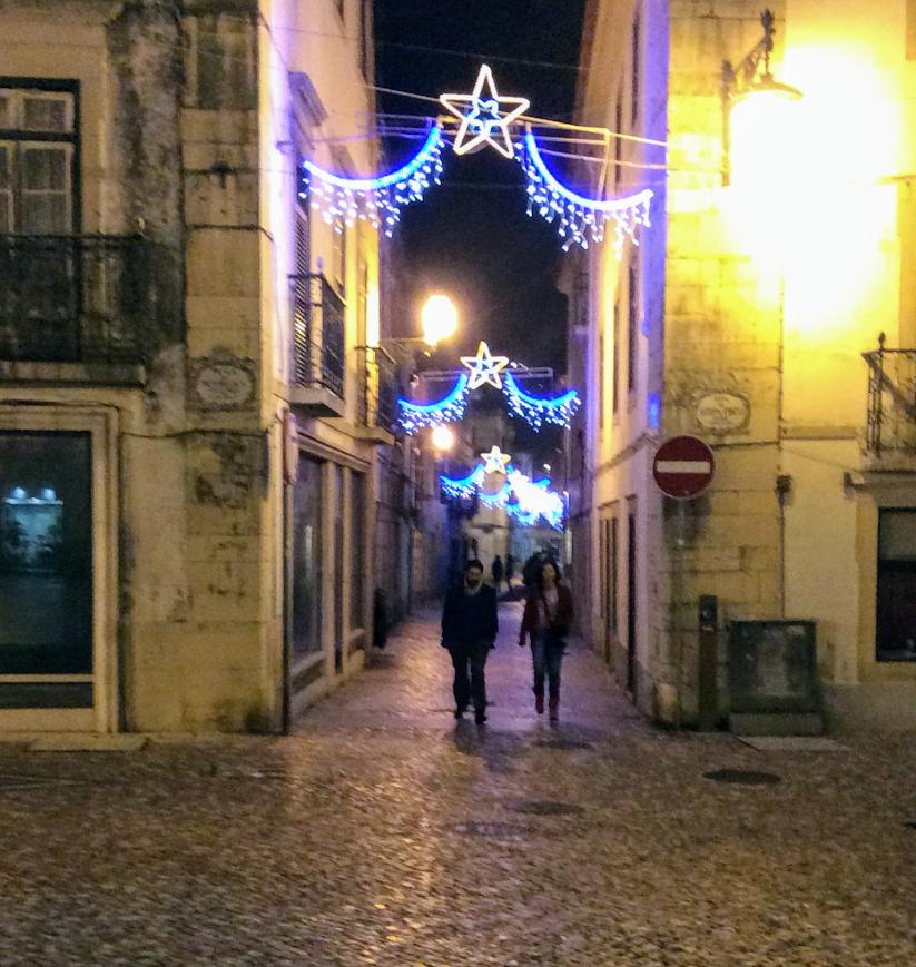 Tomar, Portugal at Christmas