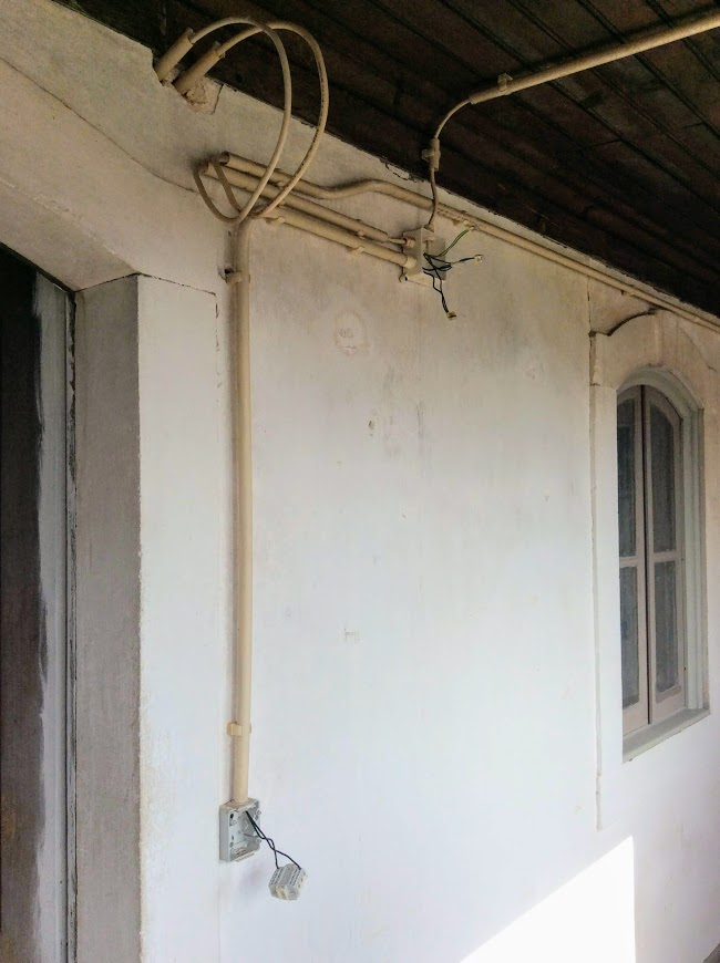 Replacing old electrics in Portugal